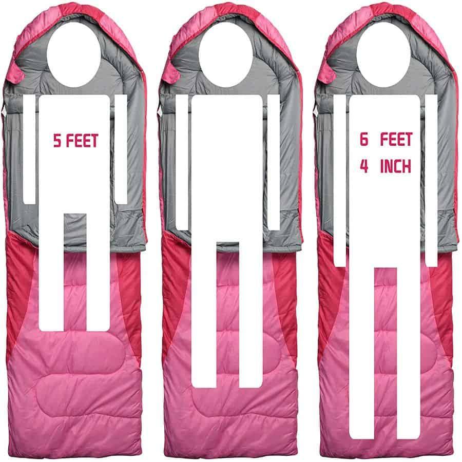0 degree sleeping bag - photo 1