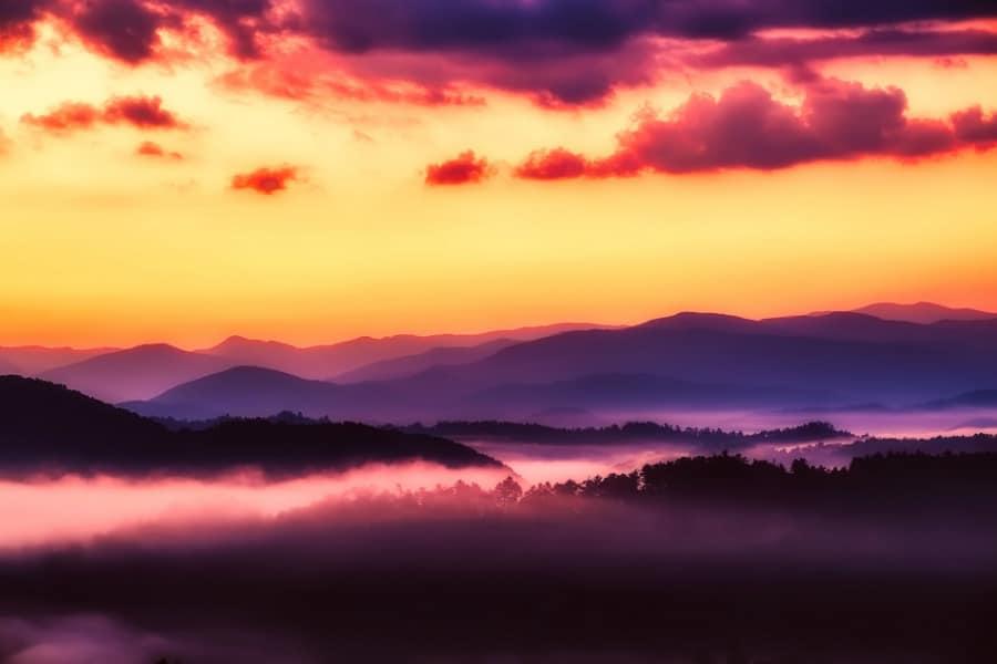 Great Smoky Mountains landscape