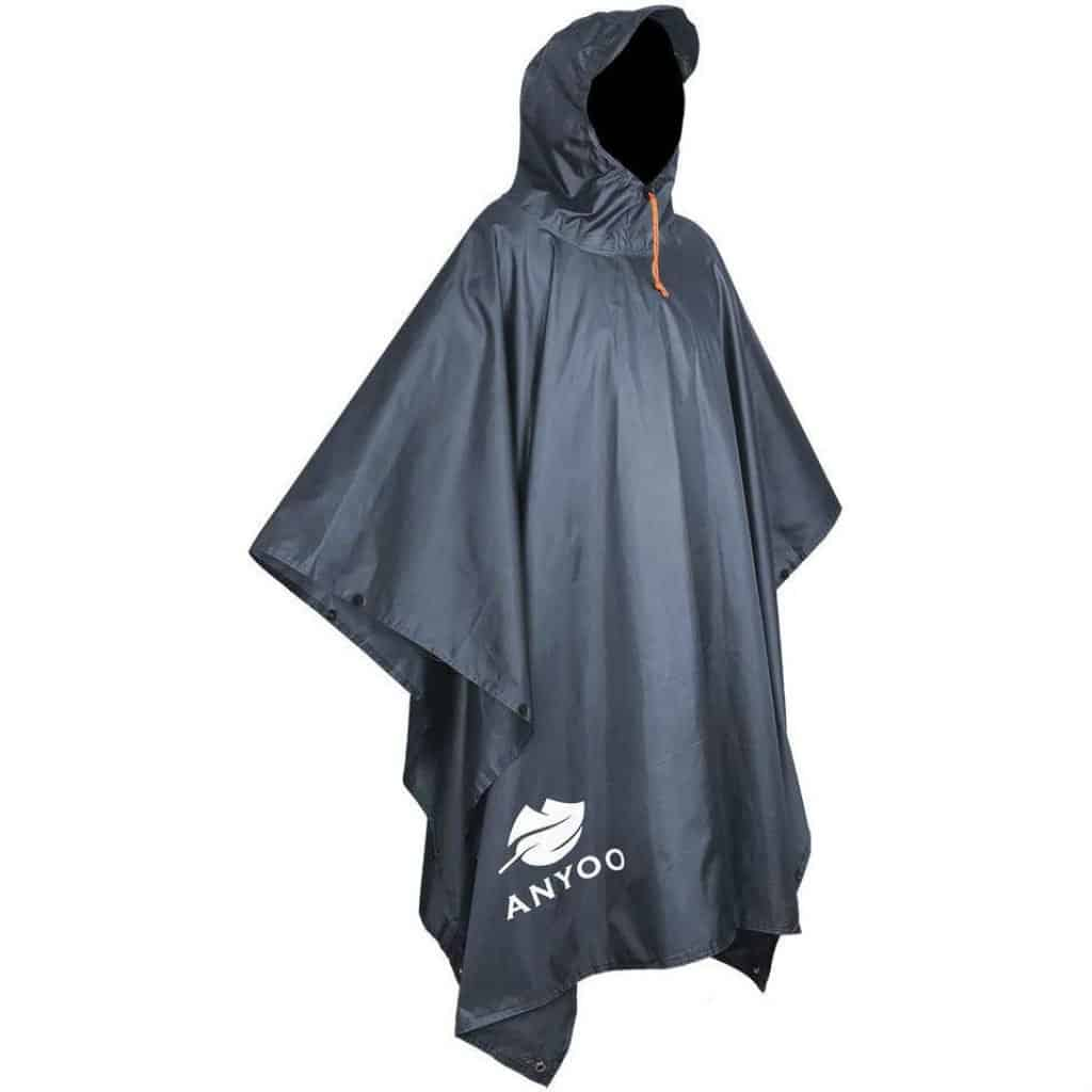 Anyoo waterproof rain poncho - photo 1
