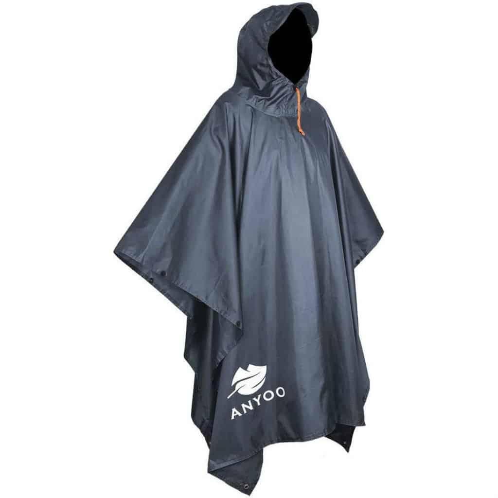 Anyoo waterproof rain poncho - photo 1
