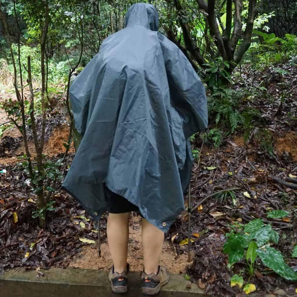 Anyoo waterproof rain poncho - photo 4