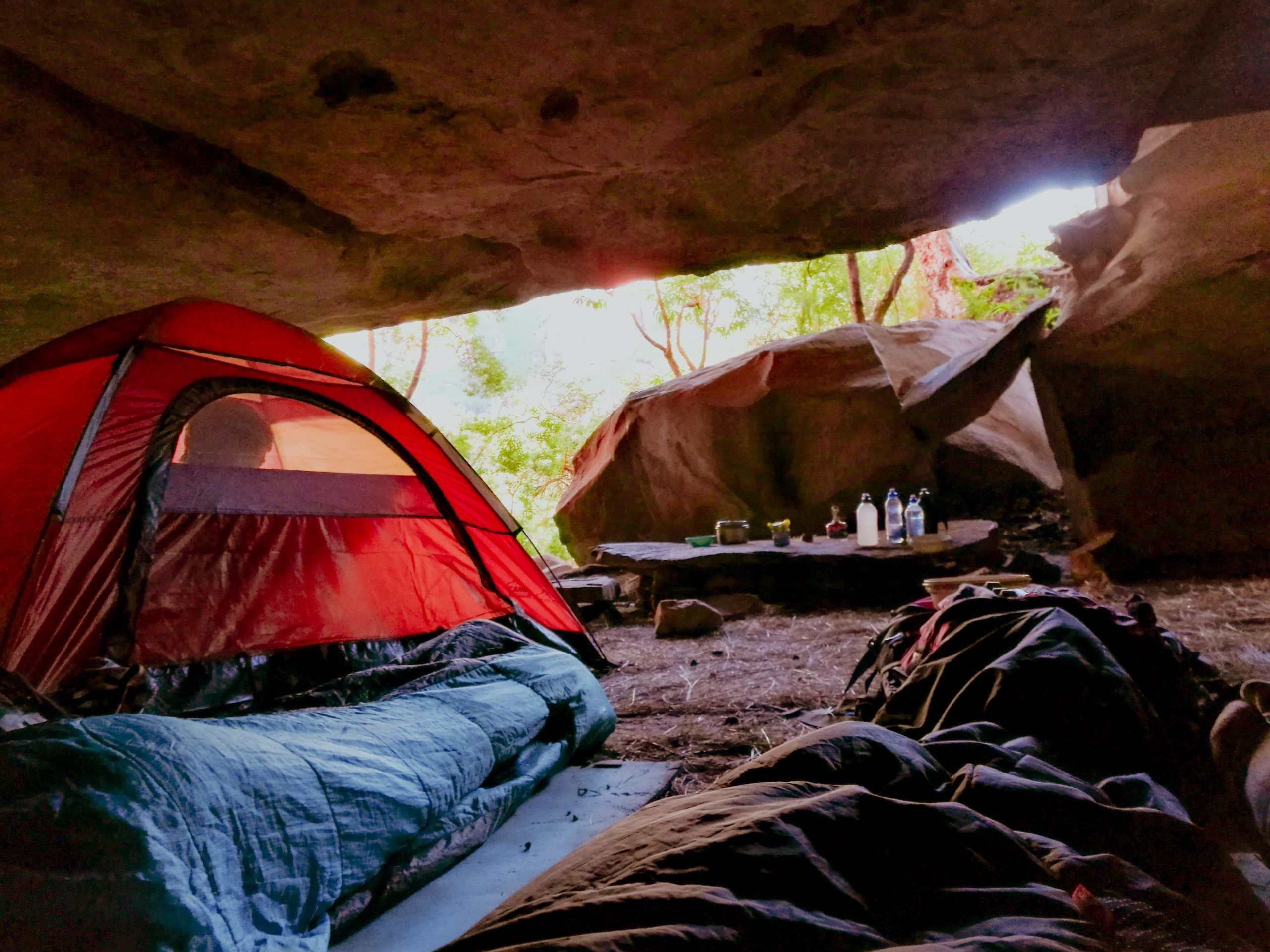 camping place - tent