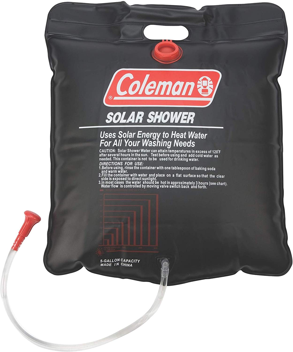 Coleman 5 gallon solar shower - photo 3