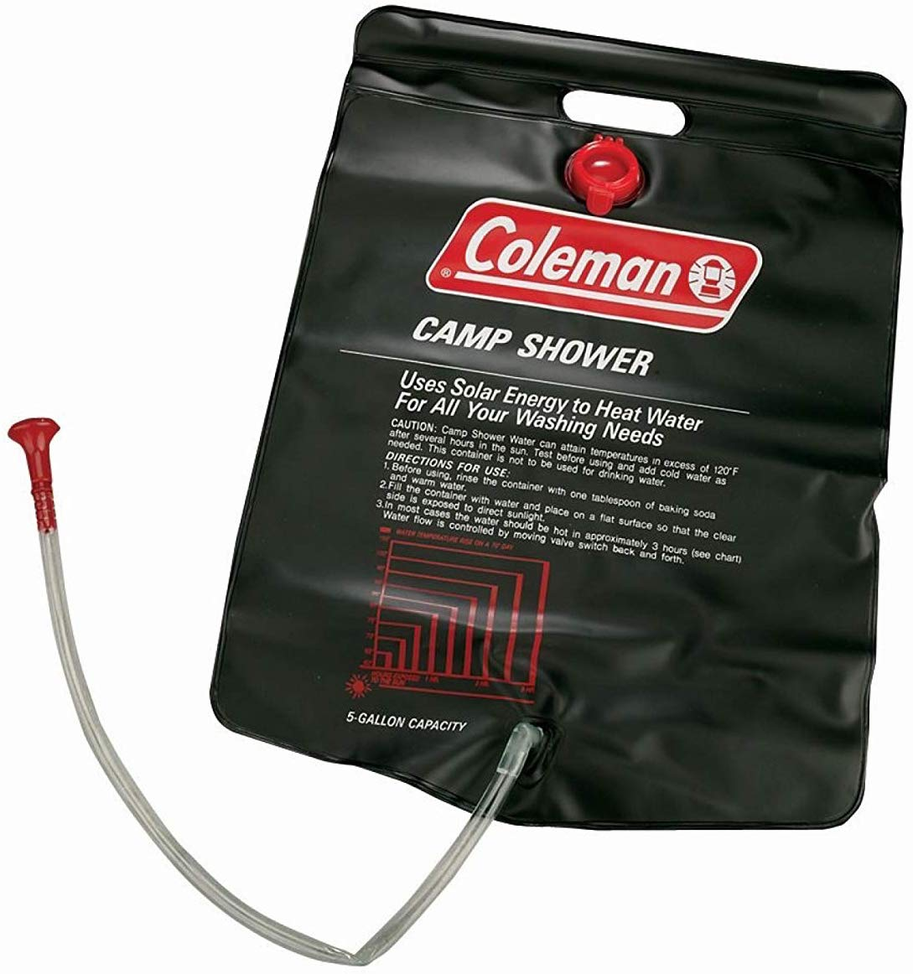 Coleman 5 gallon solar shower - photo 2