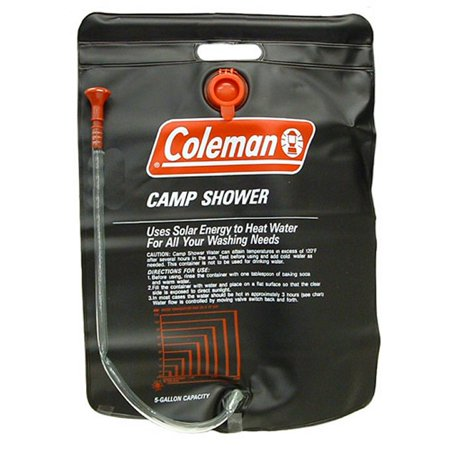 Coleman 5 gallon solar shower - photo 1