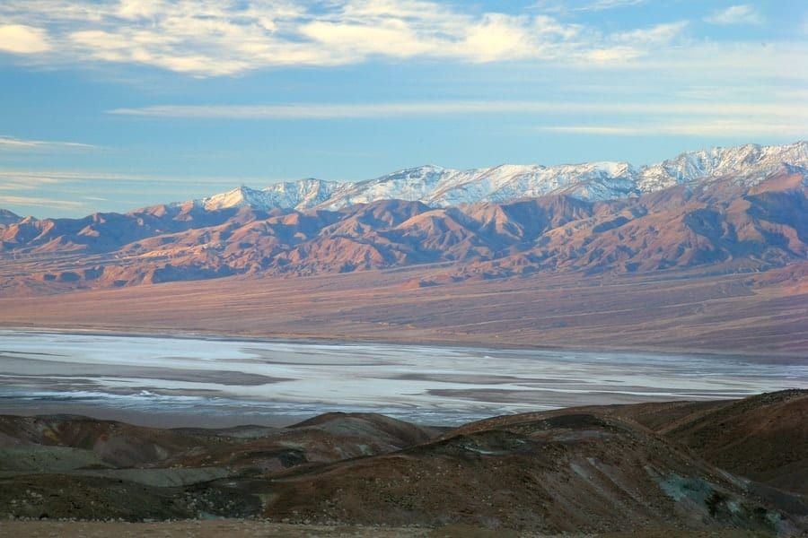 Death Valley National Park in the Winter