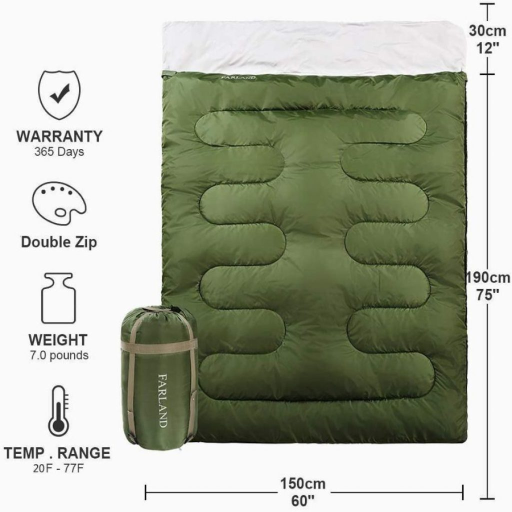 Farland sleeping bag - photo 1