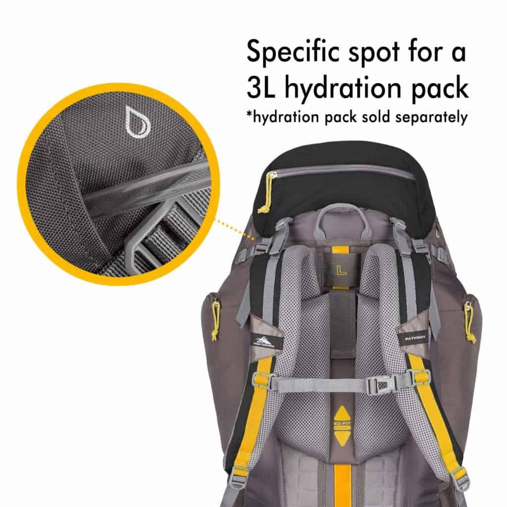 High sierra hiking backpack - photo 3
