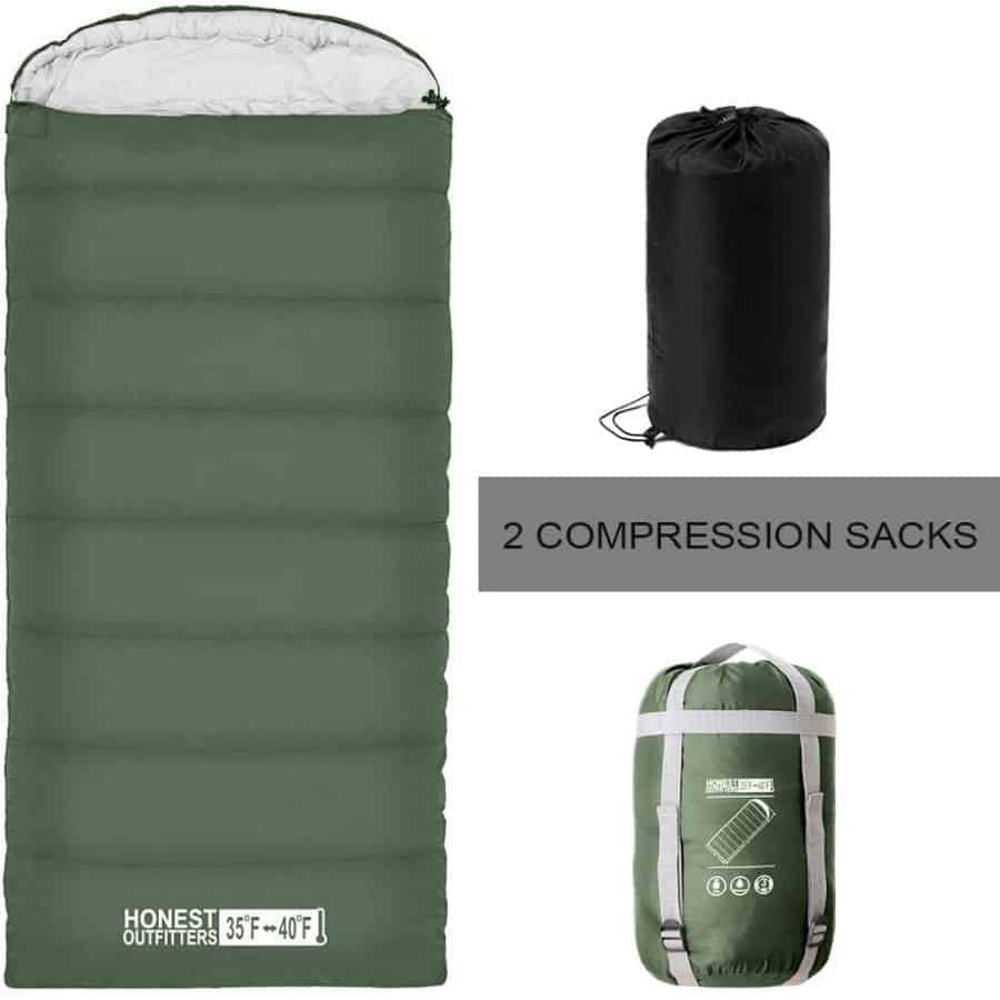 Honest outfitters sleeping bag - photo 3