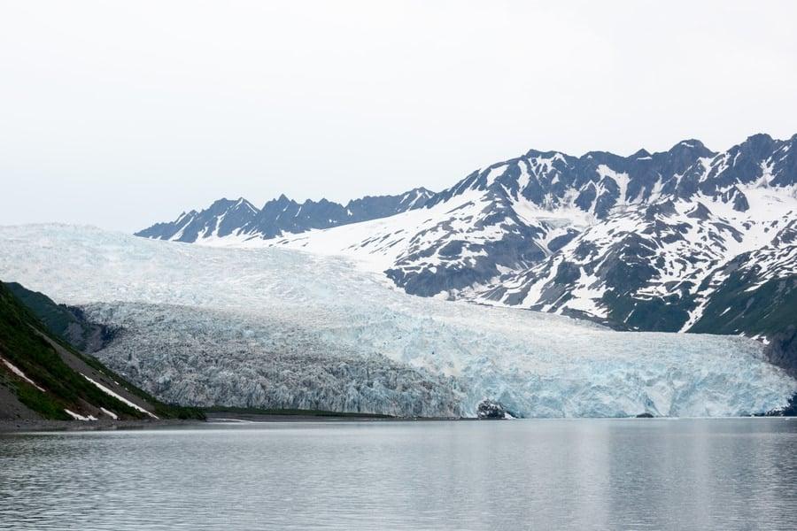 Kenai Fjords in the winter