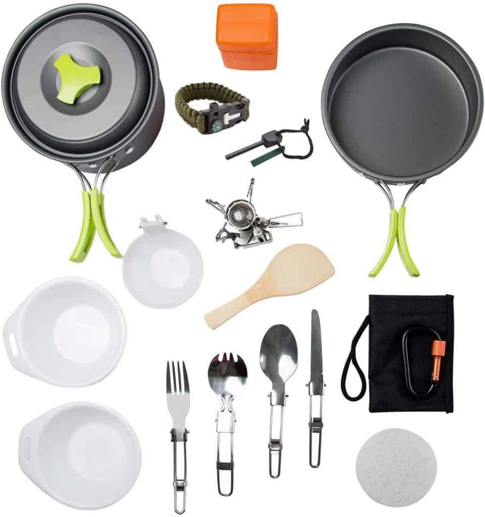 Mallowe camping cookware kit - photo 1