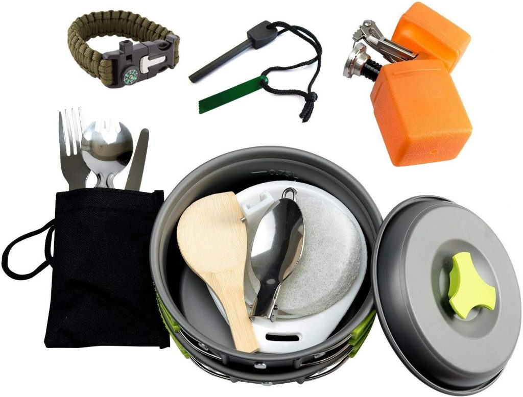 Mallowe camping cookware kit - photo 4