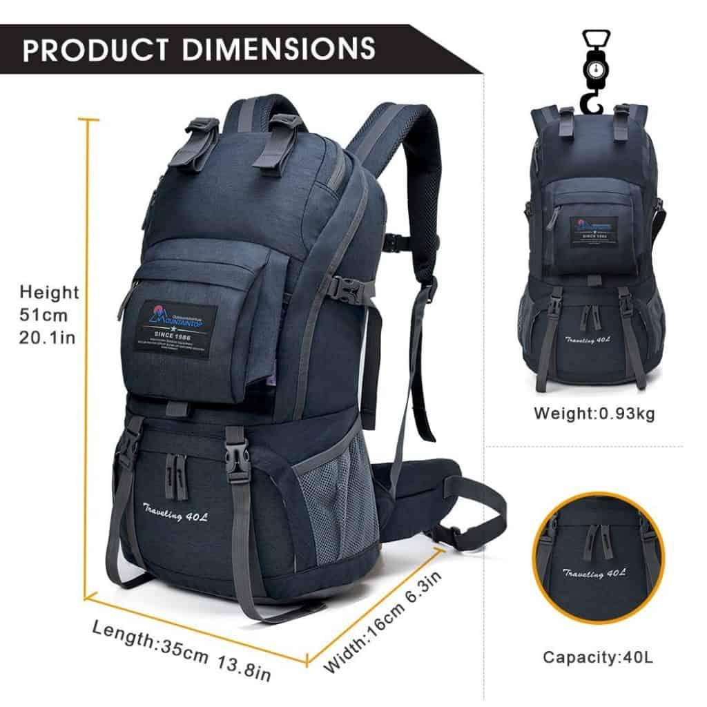 Mountaindrop hiking backpack - photo 3