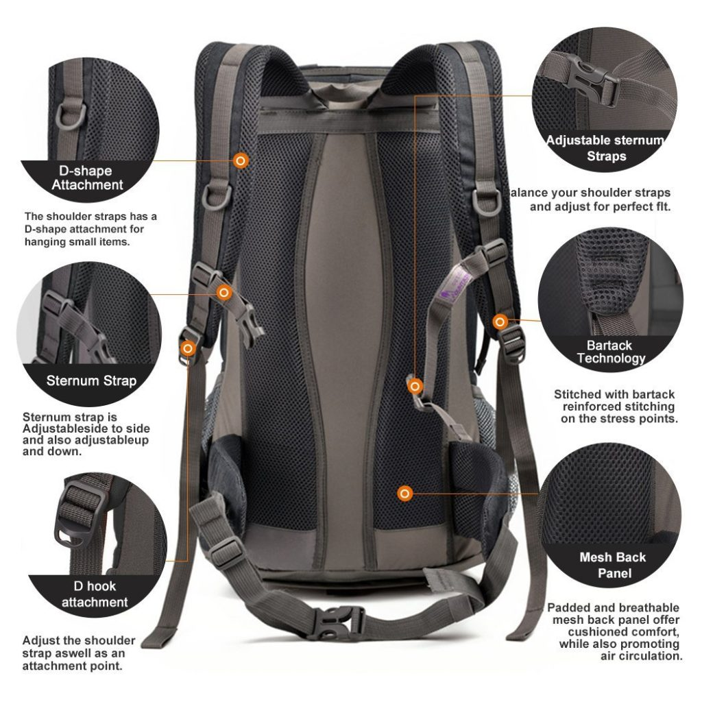 Mountaindrop hiking backpack - photo 2