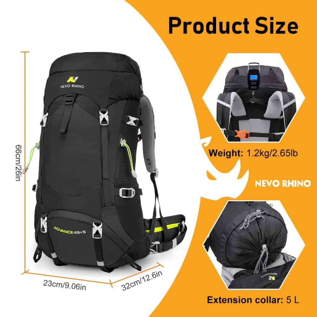 Nevo rhino internal frame backpack - photo 2