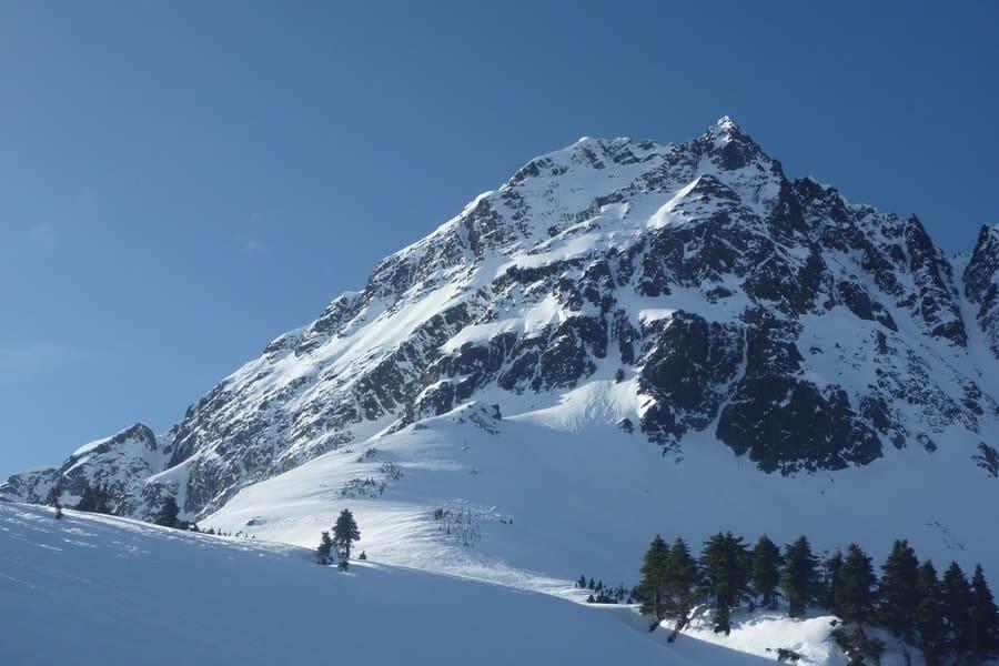 North Cascades in the winter