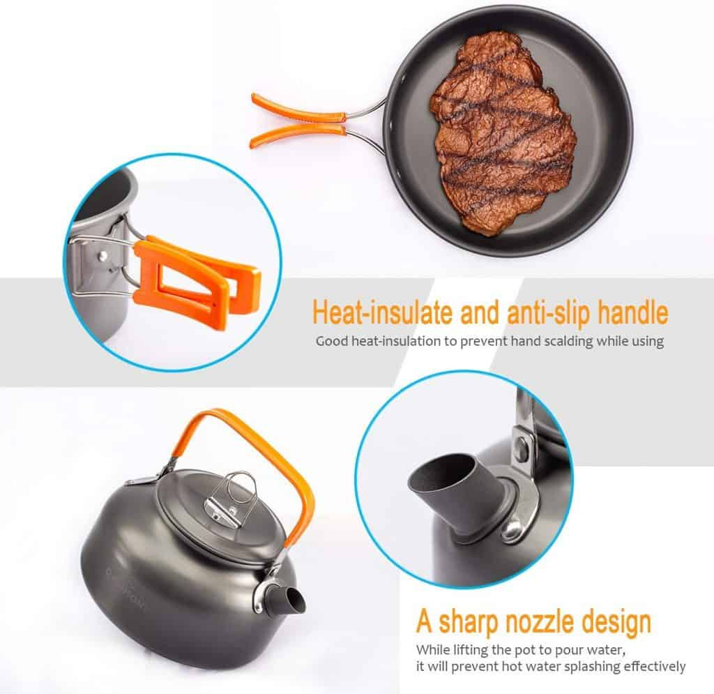 Overmint camping cookware - photo 4