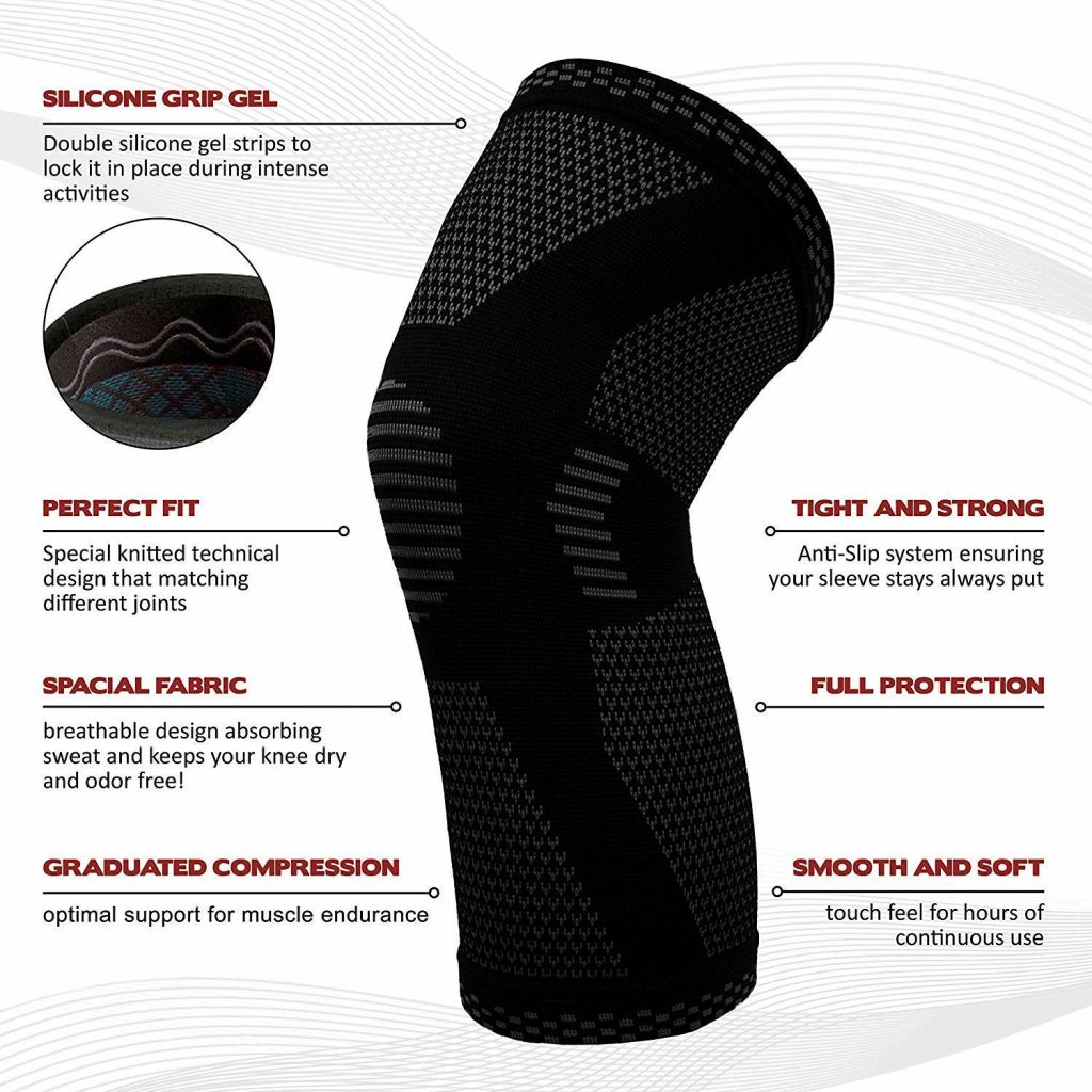 Powerlix knee compression sleeve - photo 2
