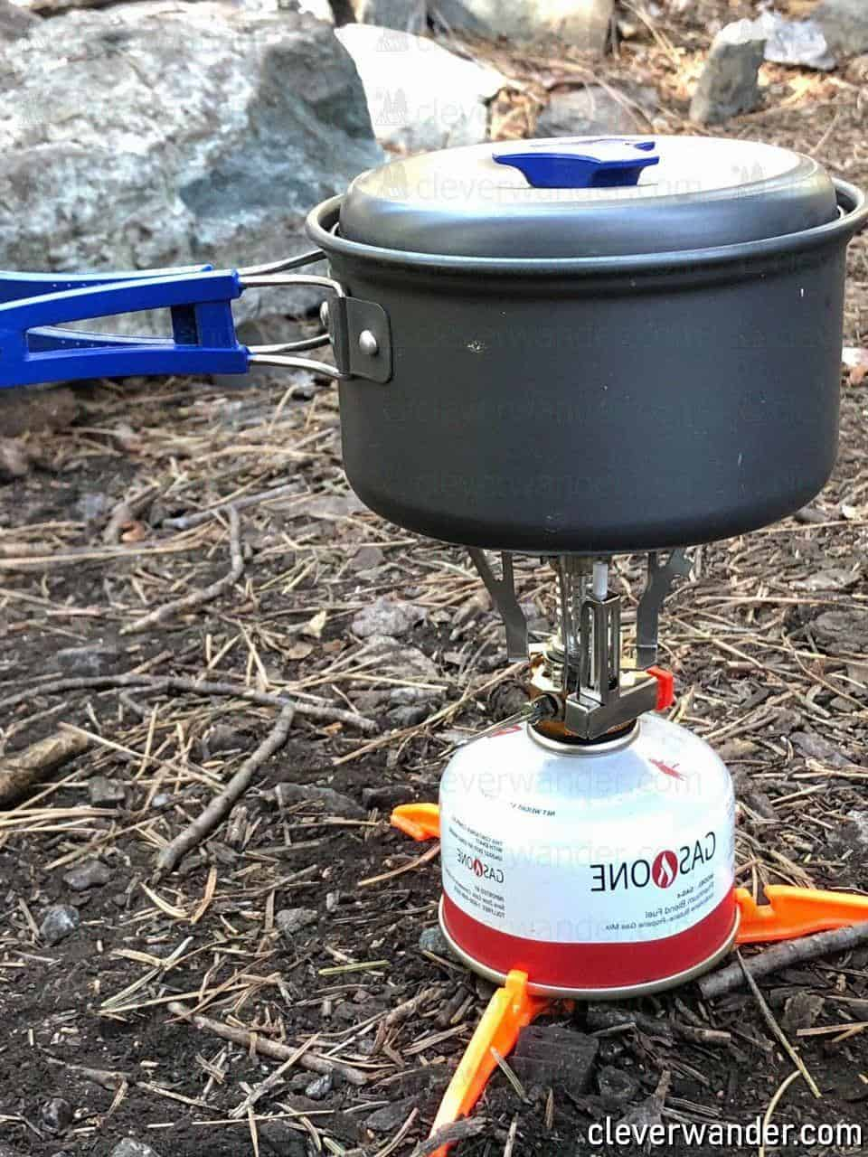 Bisgear Camping Cookware Stove - image review 4