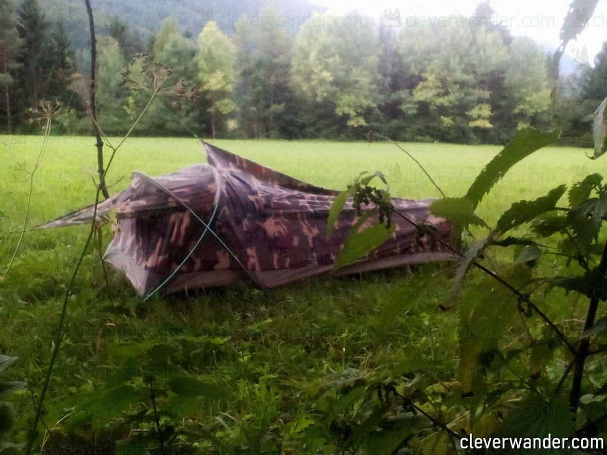 GEERTOP Ultralight Bivy Tent - image review 2
