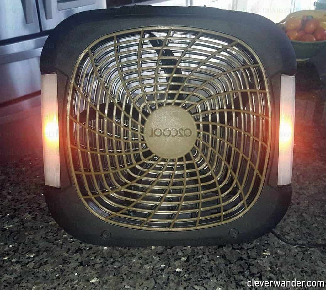 O2COOL Treva Speed Battery Powered Portable Fan - image review 1