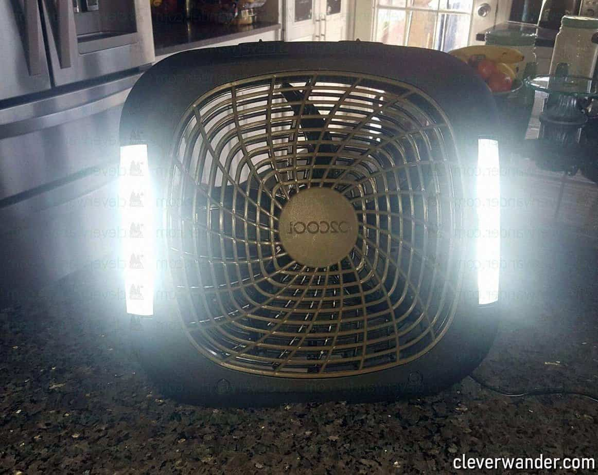 O2COOL Treva Speed Battery Powered Portable Fan - image review 2
