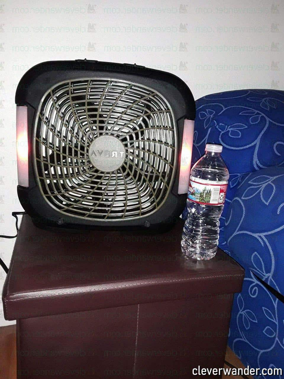 O2COOL Treva Speed Battery Powered Portable Fan - image review 3