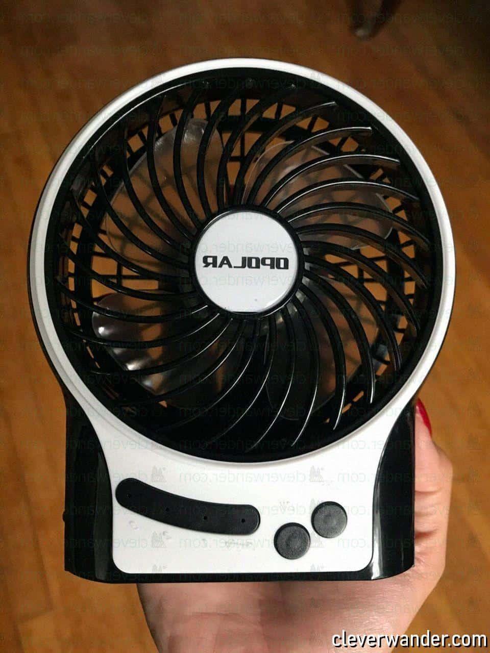 OPOLAR Mini Portable Battery Fan - image review 2