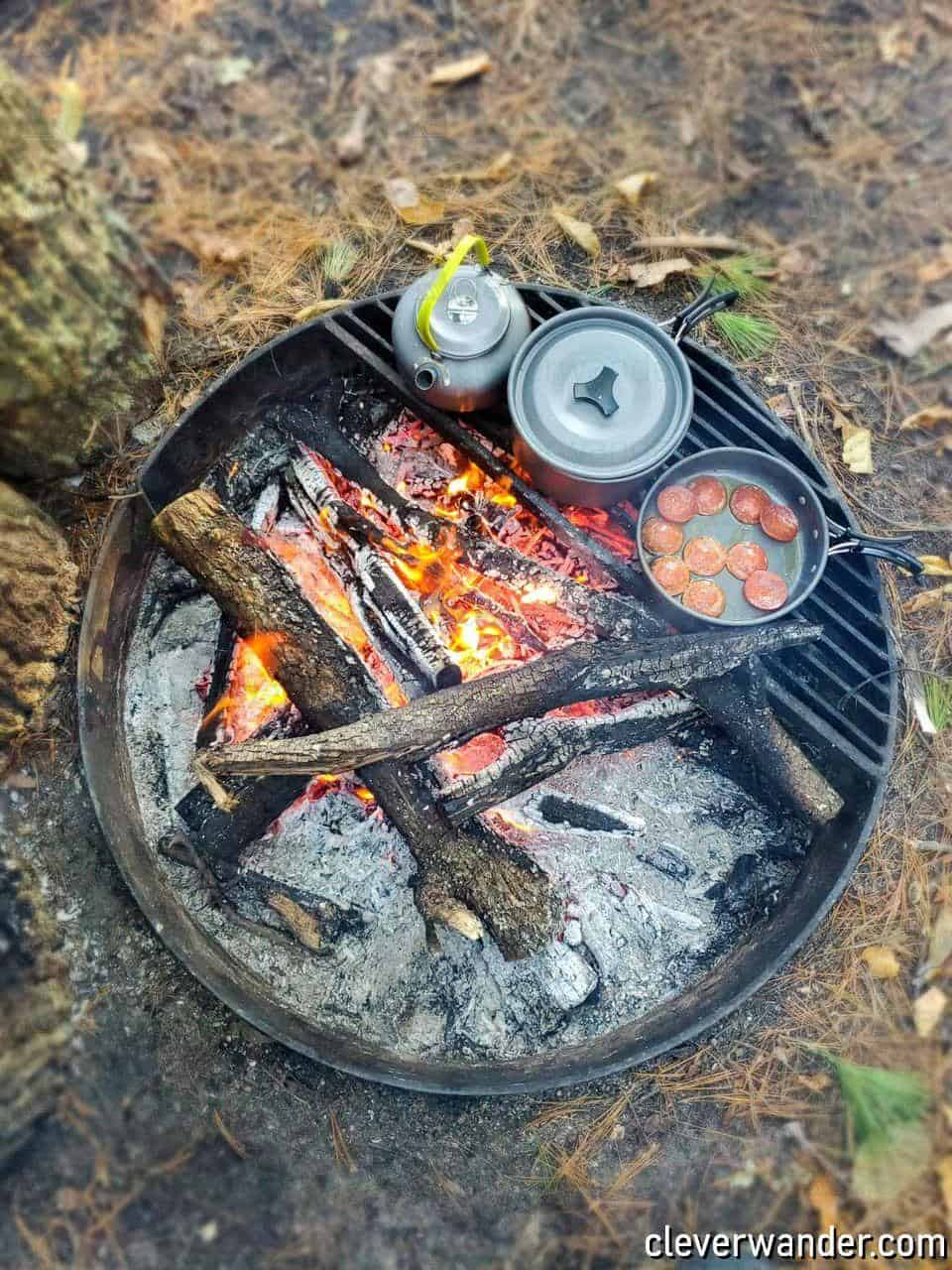 Odoland Camping Cookware - image review - 3