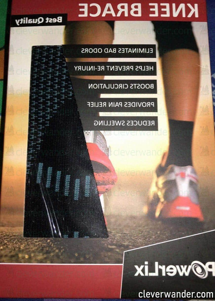 POWERLIX Knee Compression Sleeve - image review 2