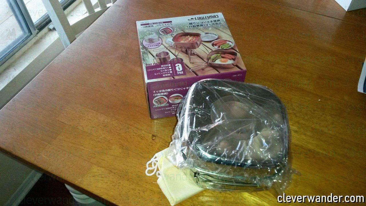 Tafond Outdoor Cookware Set - image review - 4