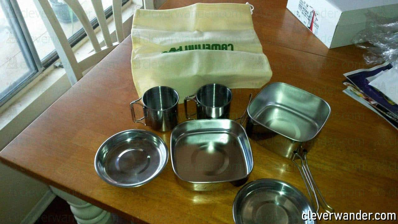 Tafond Outdoor Cookware Set - image review - 1