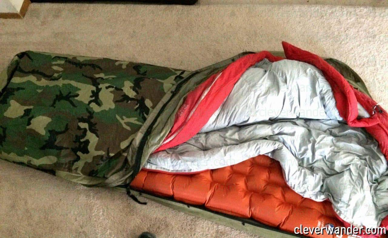 Tennier Woodland Camouflage Bivy Cover - image review 3