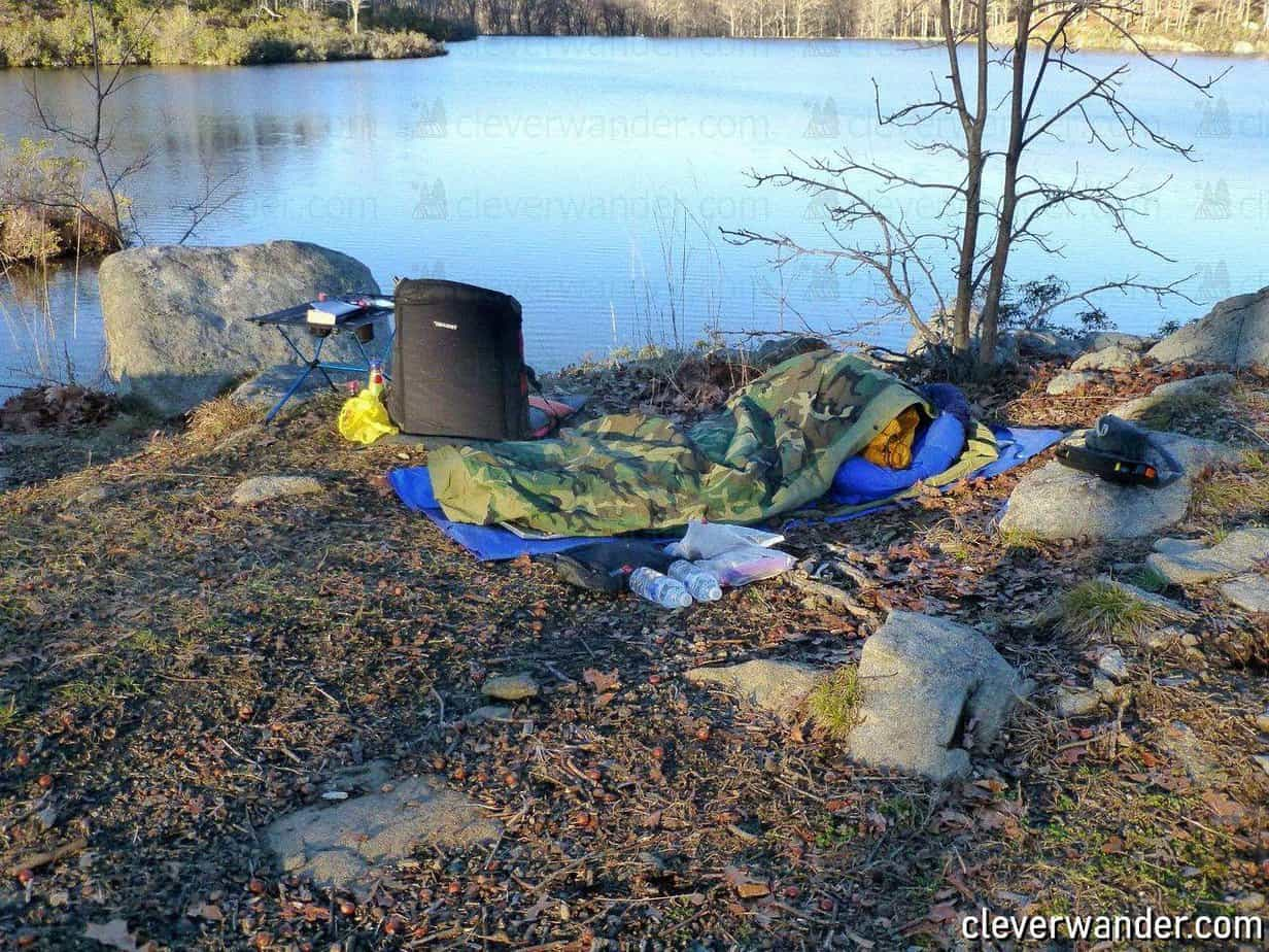Tennier Woodland Camouflage Bivy Cover - image review 1