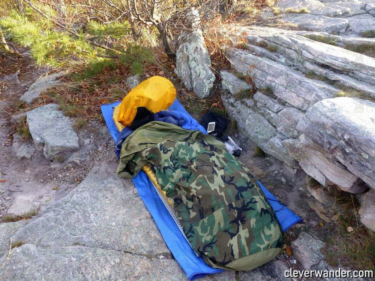 Tennier Woodland Camouflage Bivy Cover - image review 4