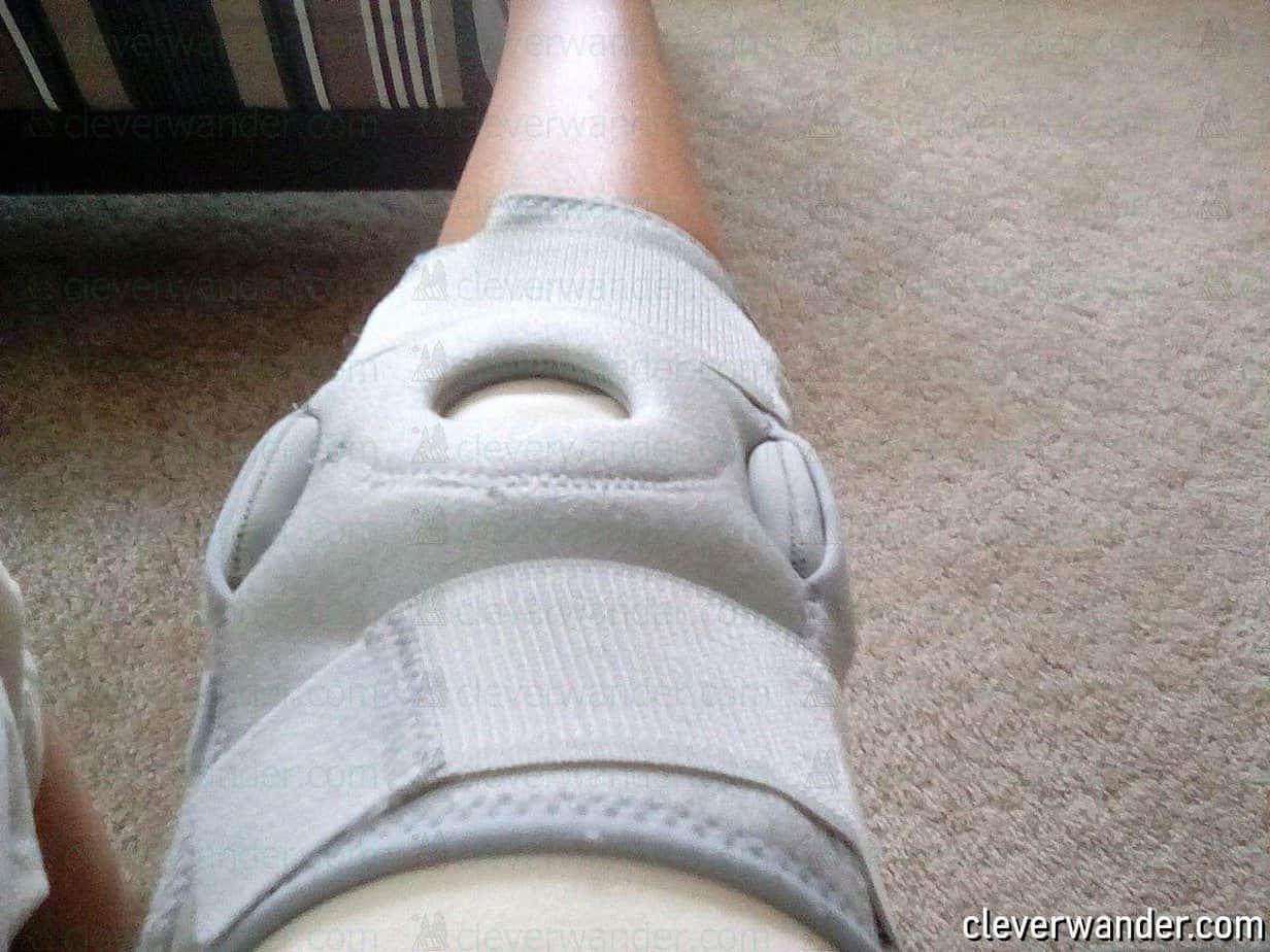 Vive Hinged Knee Brace - image review 3