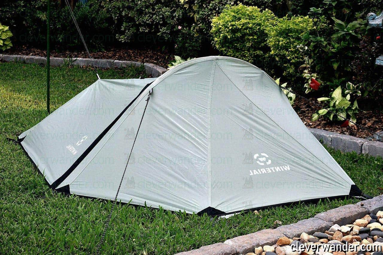 Winterial Single Person Bivy Tent - image review 4