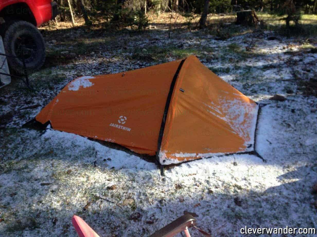 Winterial Single Person Bivy Tent - image review 1
