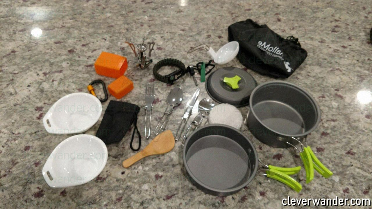 Mallone Camping Cookware – image review - 1