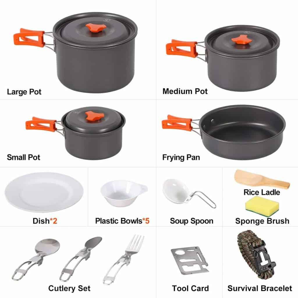 Redcamp camping cooking kit - photo 4