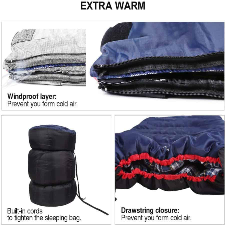 Redcamp cotton flannel bag - photo 3