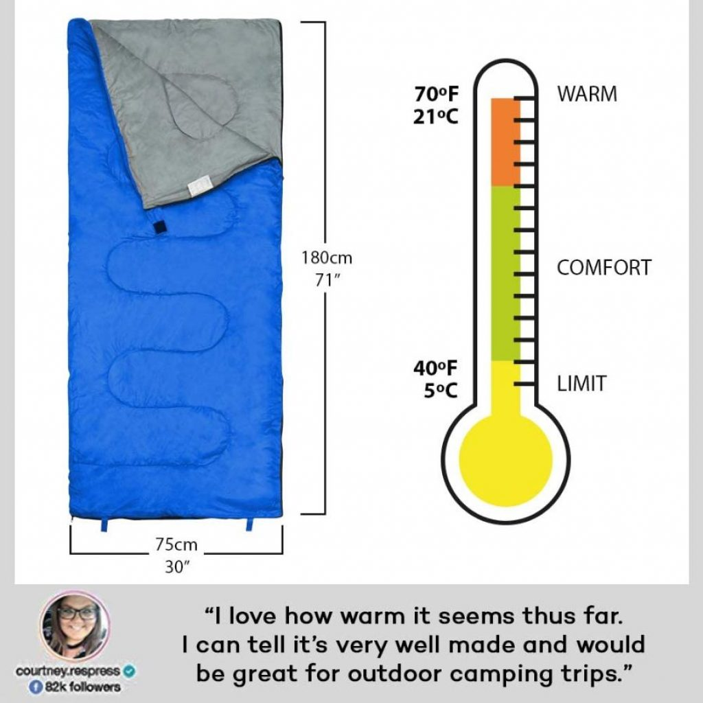 Revalcamo camping sleeping bag - photo 1