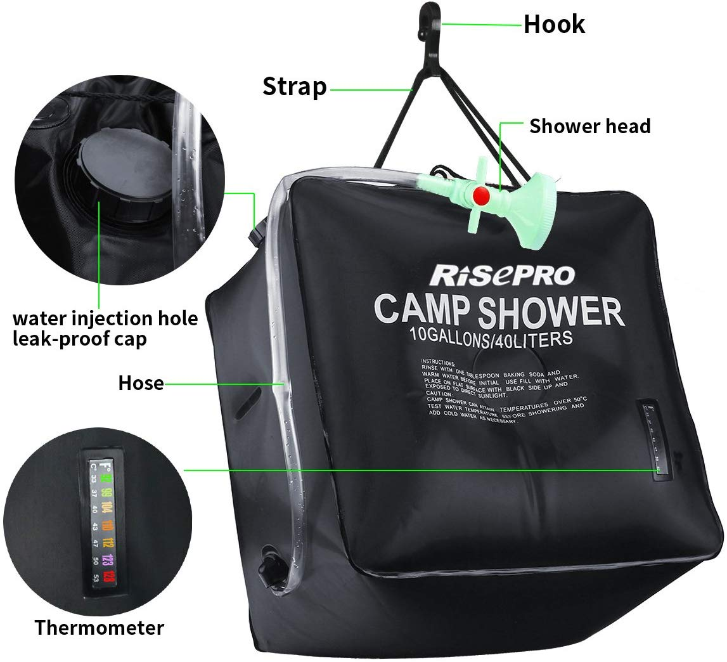 Risepro solar shower bag - photo 3