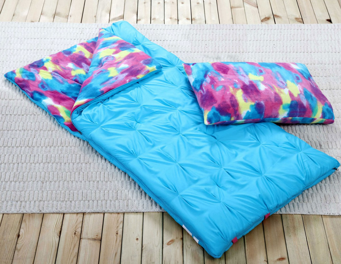 Sleeping bags for teenage girls - title