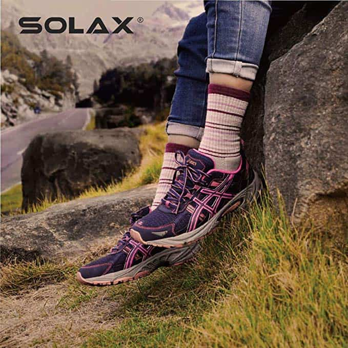 Solax merino wool hiking socks - photo 2