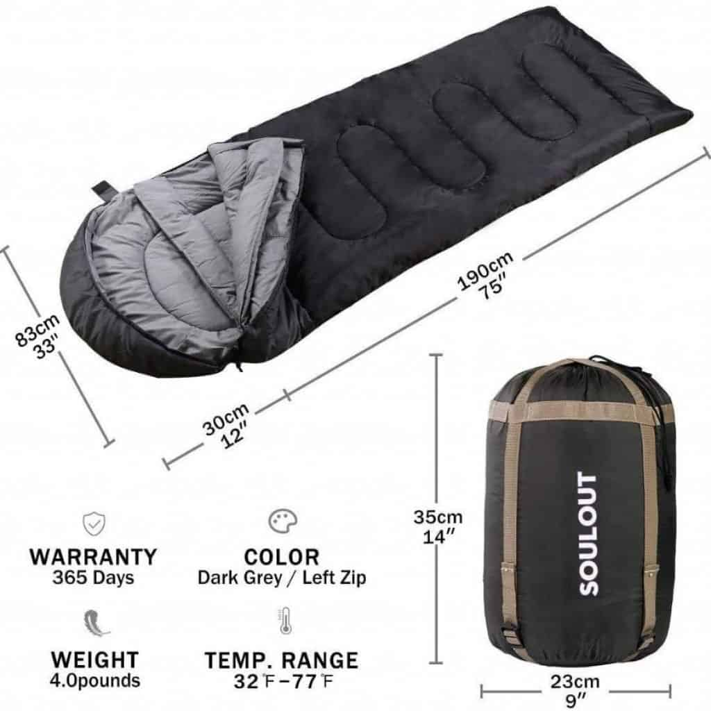 Soulout sleeping bag - photo 2