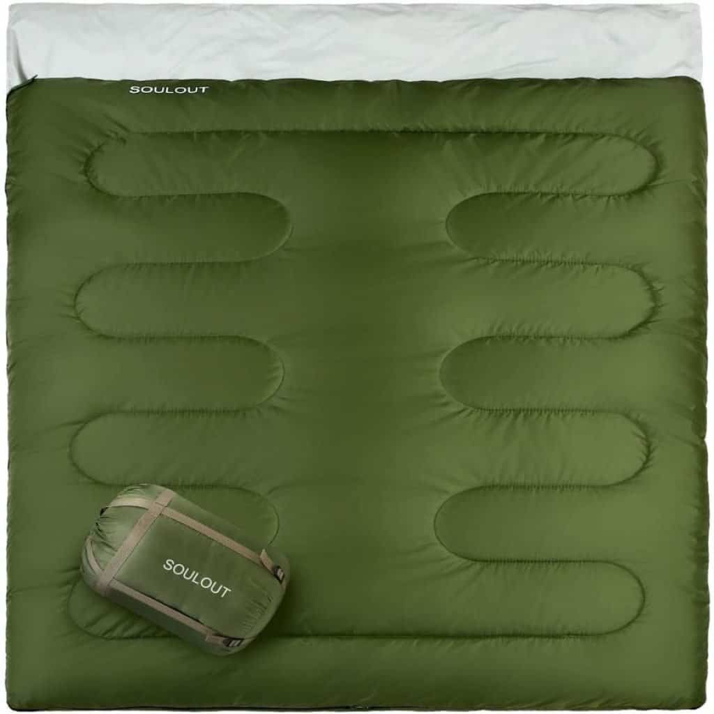 Soulout warm army sleeping bag - photo 1