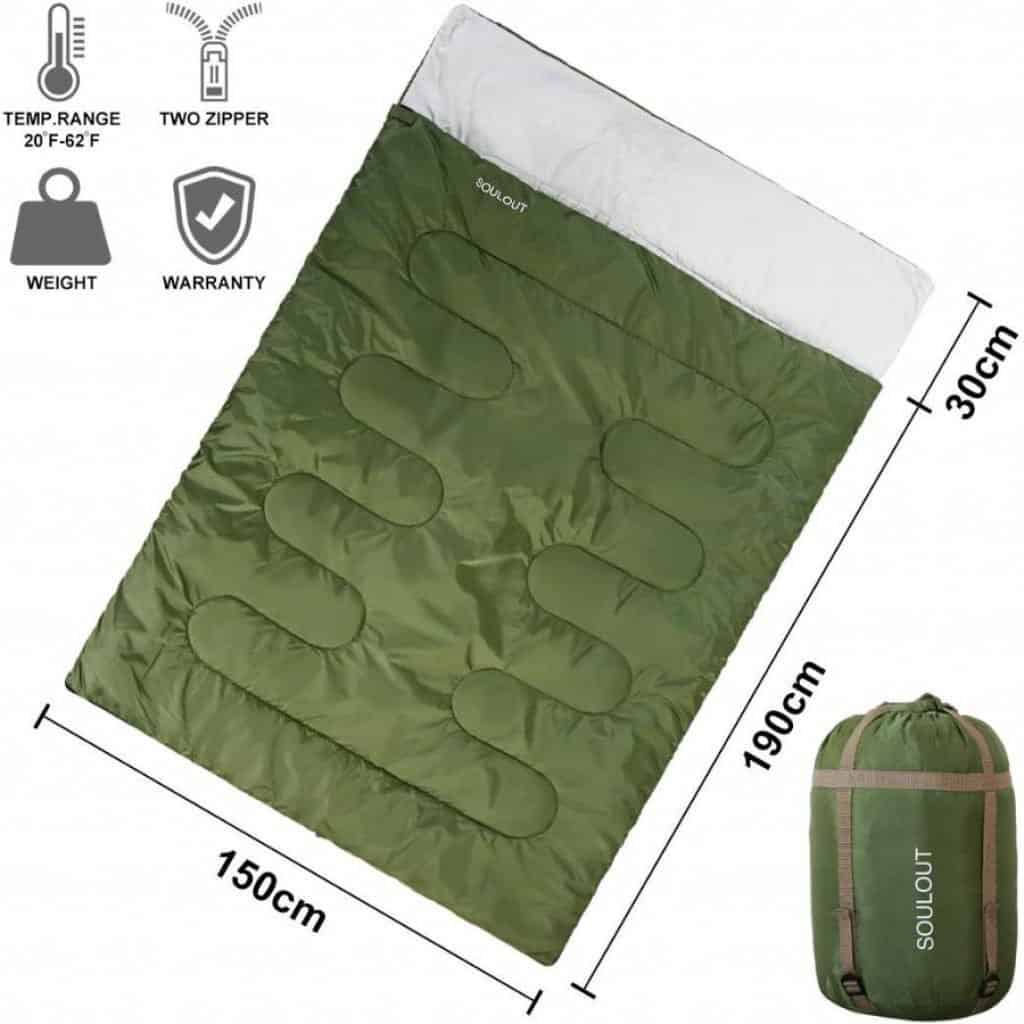 Soulout warm army sleeping bag - photo 2