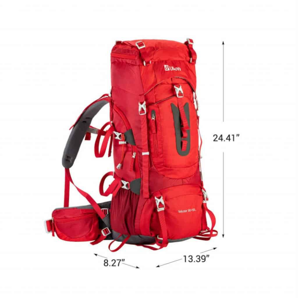 Ubon internal framed hiking backpack - photo 2