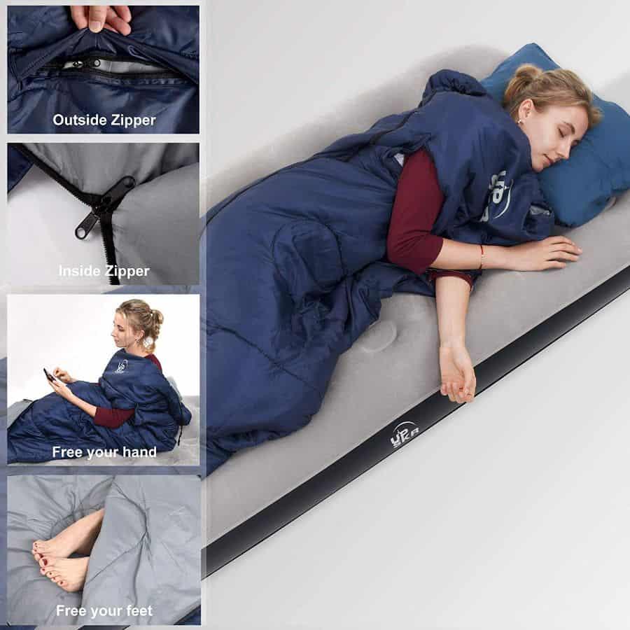 UPSKR sleeping bag - photo 4